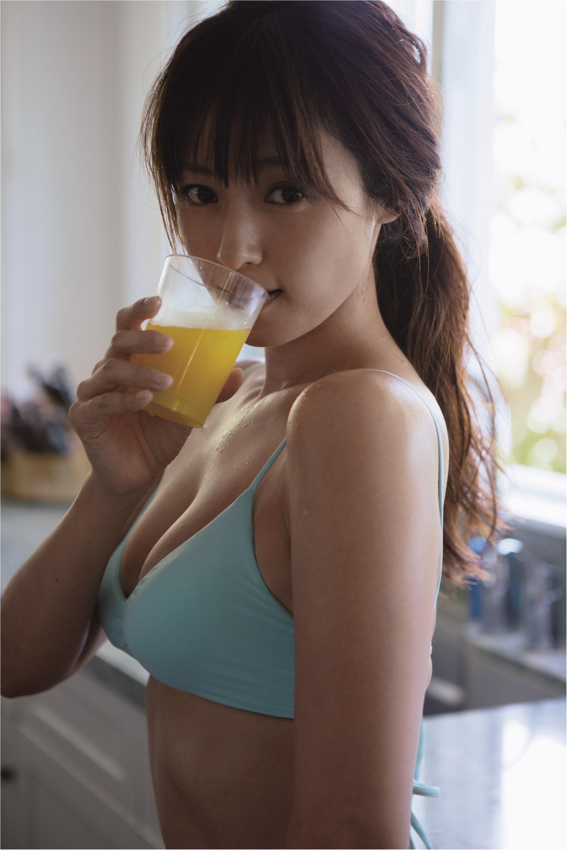 写真集の深田恭子