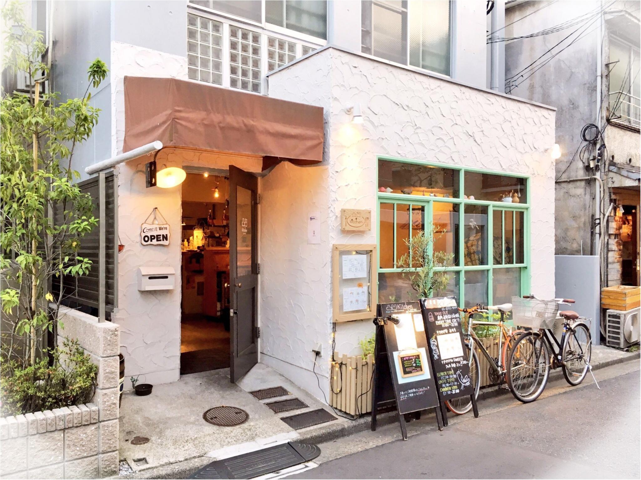 高田馬場の路地裏カフェ『凸凹キッチン』がナチュラルかわいい♡ | happy