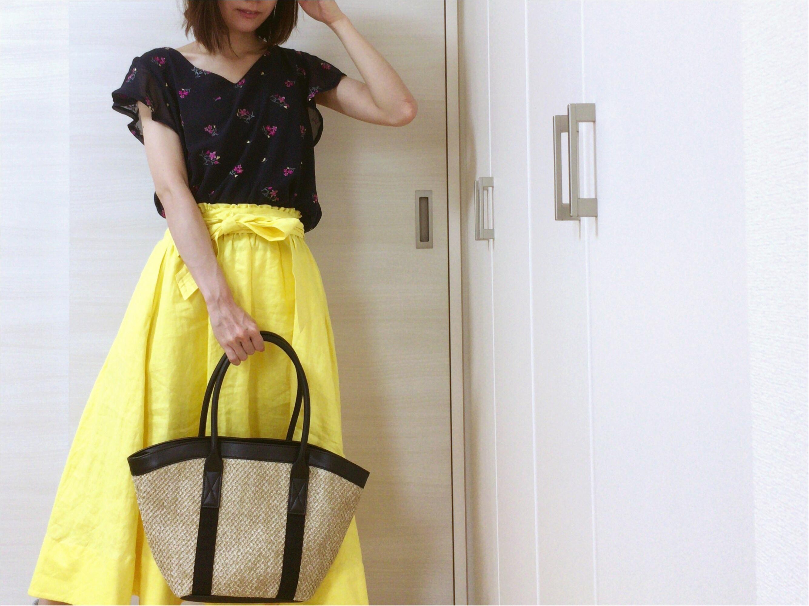 【SALE】990円!GU《カゴトートバッグ》可愛い♡夏ファッション必須アイテムをさらに安く♡_5