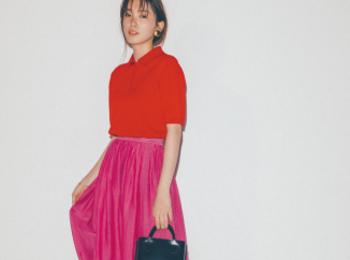 きれい色を着たいけど配色に迷う? ピンクに赤、ライトブルーに青。「同系色」で合わせてみて!