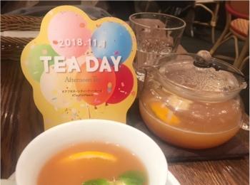 【紅茶の日】Afternoon tea roomの紅茶が『111円』で飲めちゃう♡♡