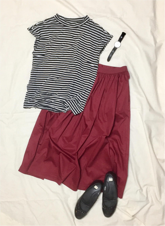 【この夏→秋もUNIQLOが熱い】シンプルなのに可愛い☆ボリュームスカート_3