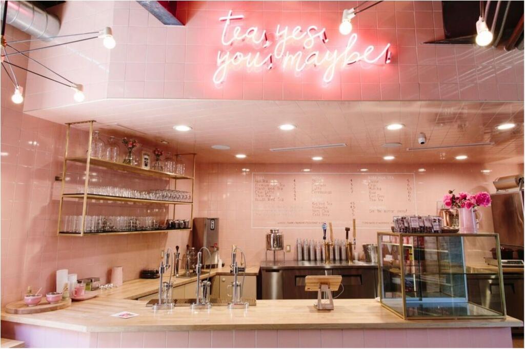 【日本初上陸!】ミレニアルピンクが目印♡ LA発の『ALFRED TEA ROOM』が青山、新宿に10/31(火)同時オープン!_1_1