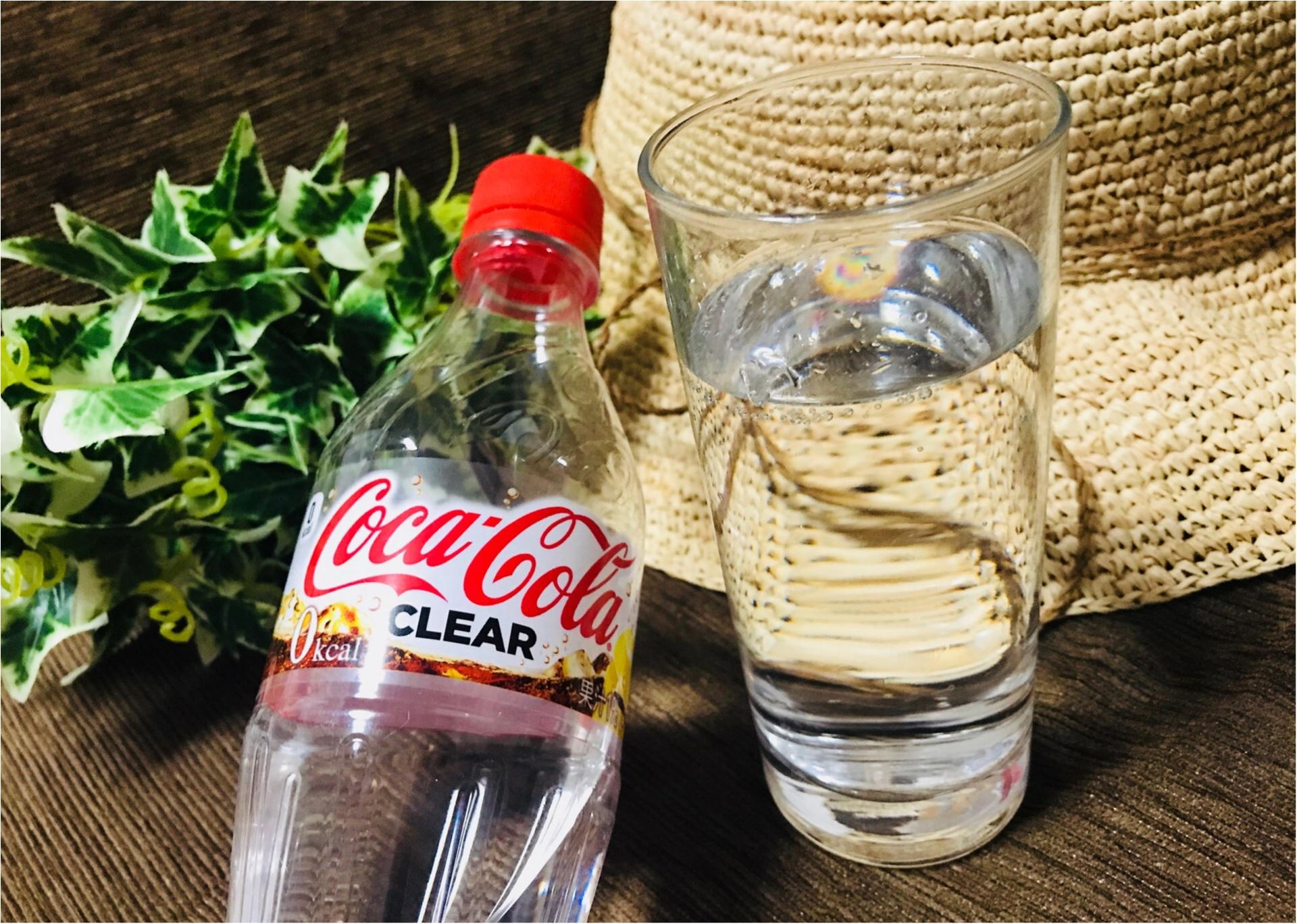 衝撃!ついに【コカ・コーラ】まで透明に!そしてなにより嬉しいゼロカロリー♡♡_4