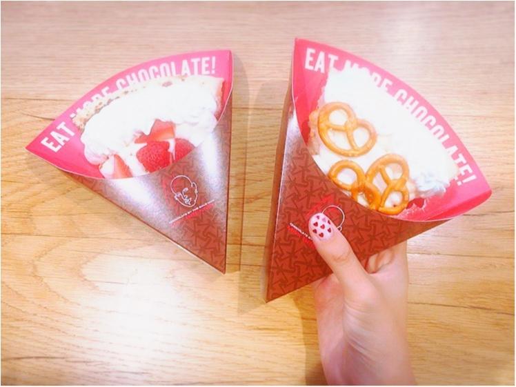 原宿のchocolatepizzabar♡【maxbrenner 】で自分だけのトッピング♡_2