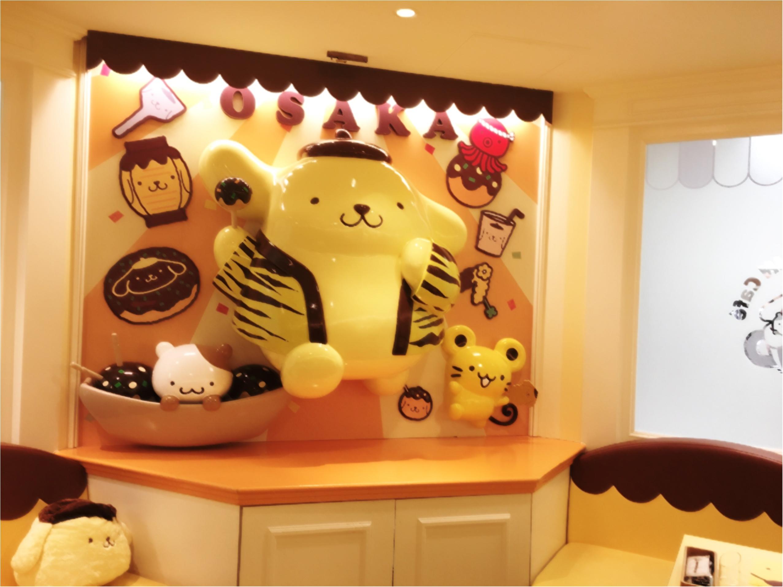 メニューリニューアル!かわいいかわいいポムポムプリンカフェに行ってきた♡♡_3