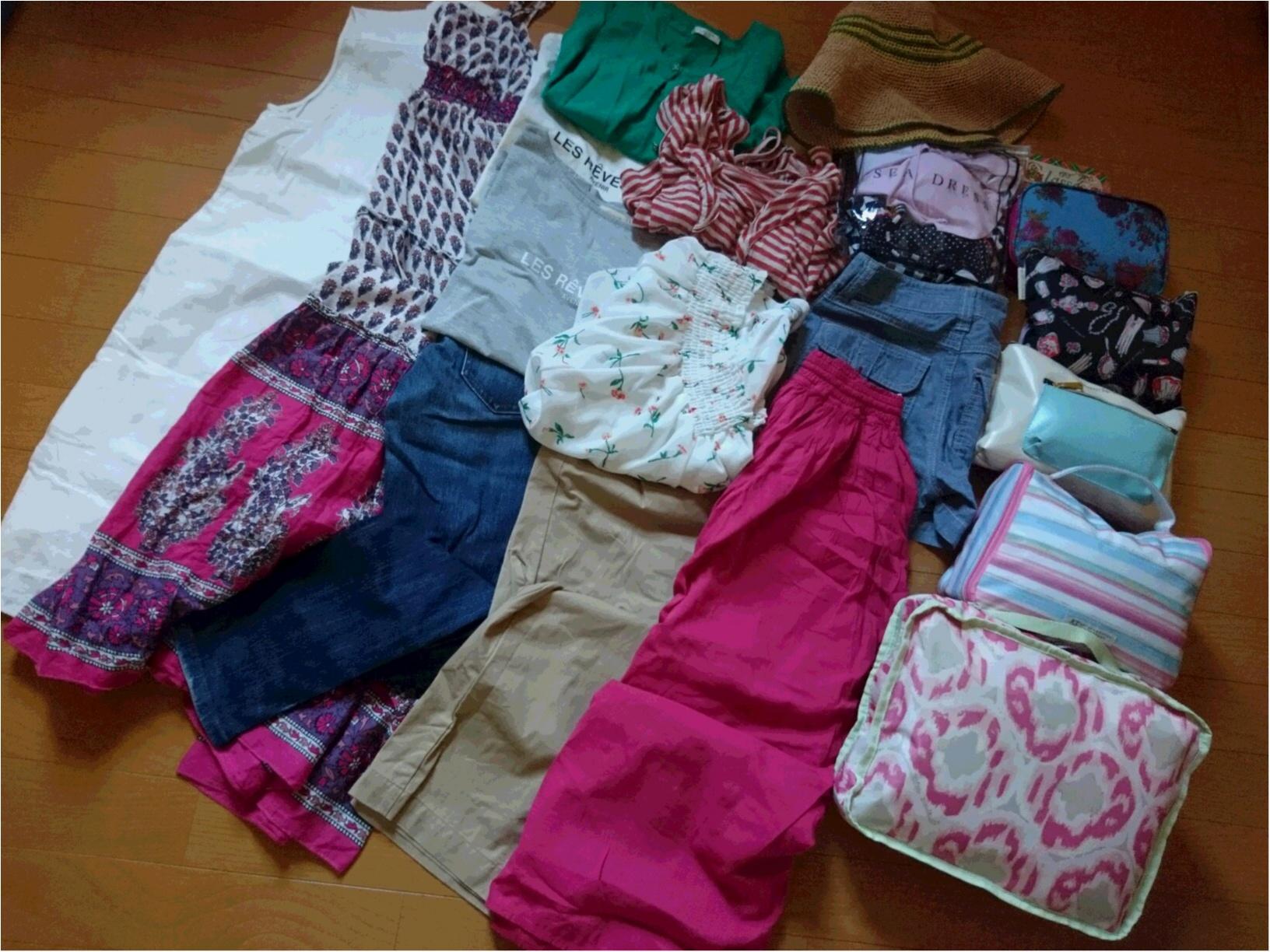 夏休み 旅行 7日間のパッキング&ファッション ご紹介☆_5