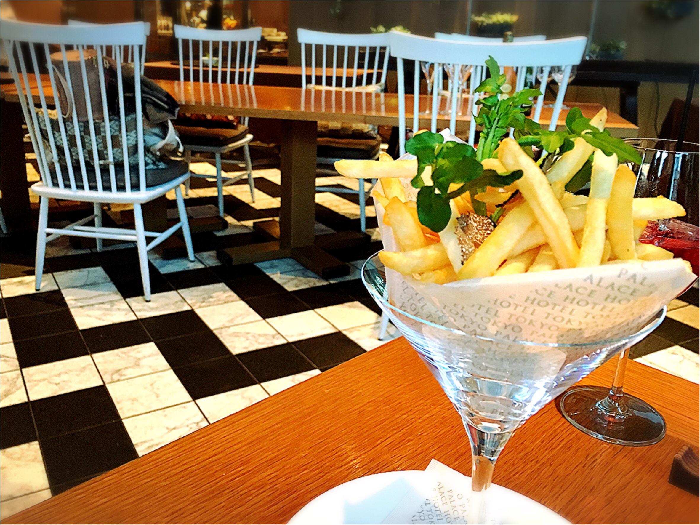 パレスホテル東京の贅沢ランチ!こんなに高級なフライドポテト食べたことある?【MORE3月号】_5
