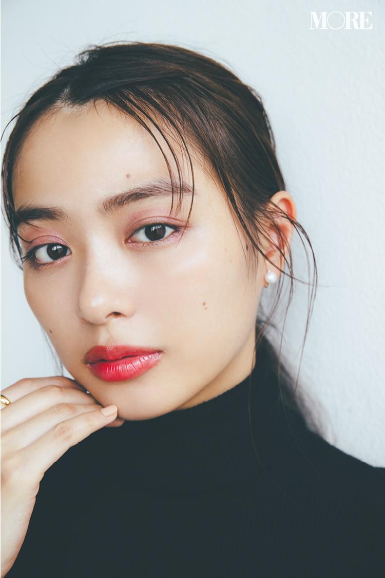目もとも唇も、ぐんとおしゃれになる「大人なモーヴピンク」メイク♪ 記事Photo Gallery_1_2