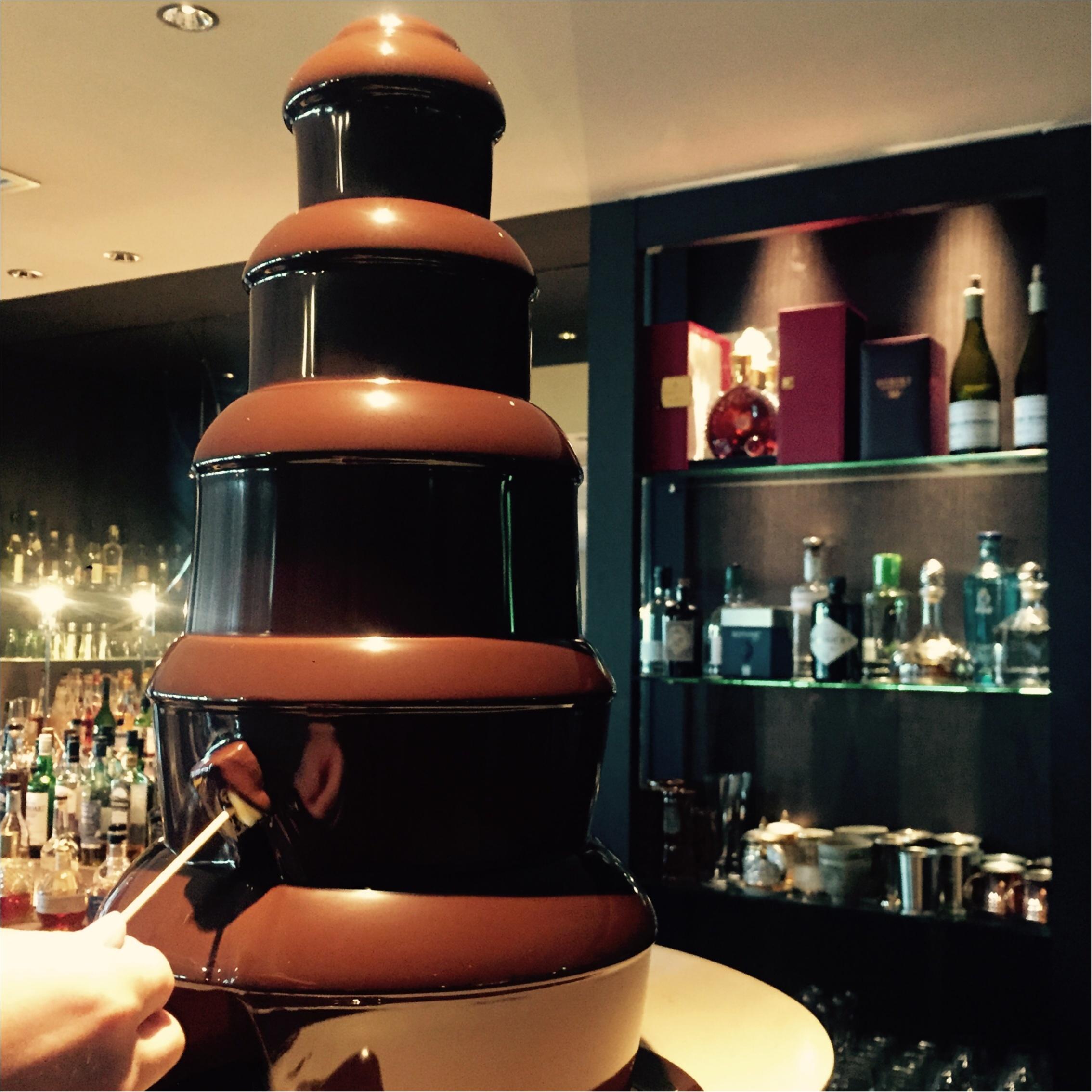 チョコレートファウンテンも楽しめる♡ビュッフェスタイルのランチをハービスで♡_3