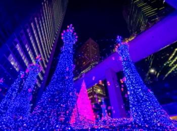 【11月14日から】汐留イルミネーション♡今年は「アラジン」がテーマ!