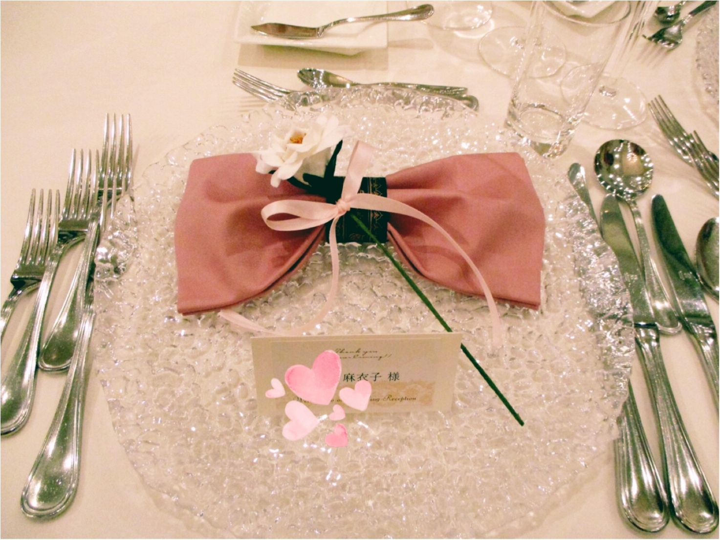 世界一「姫!」な花嫁さん♡ももえちゃん結婚式レポ♡_13