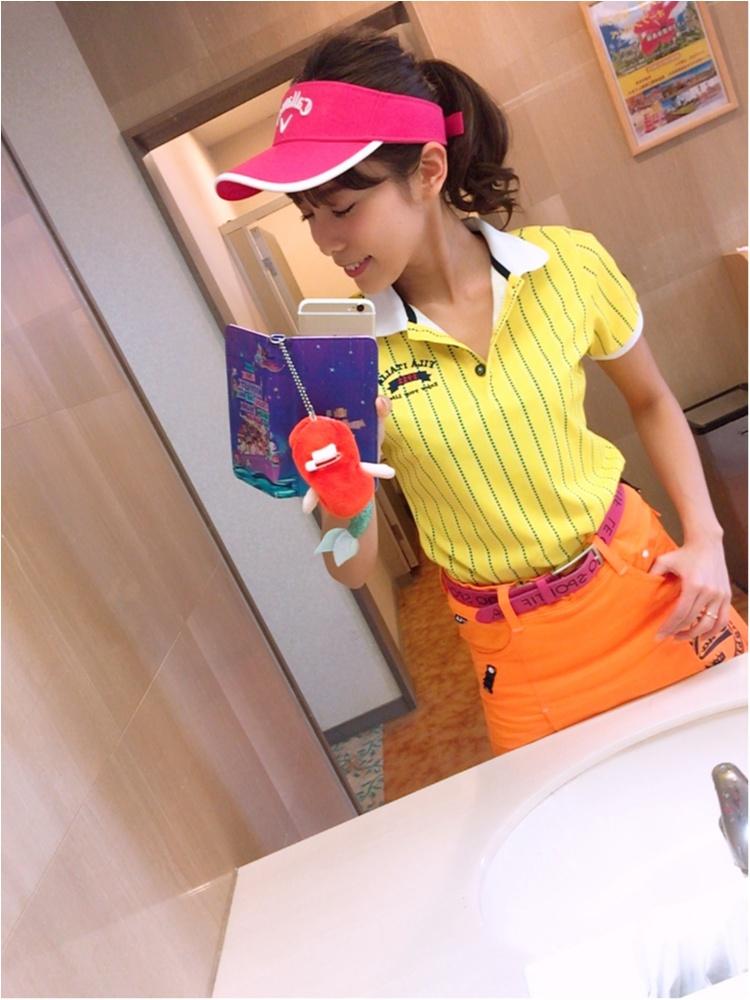 【趣味】ゴルフ初ラウンド!可愛いゴルフウェアもご紹介♡【休日】_3