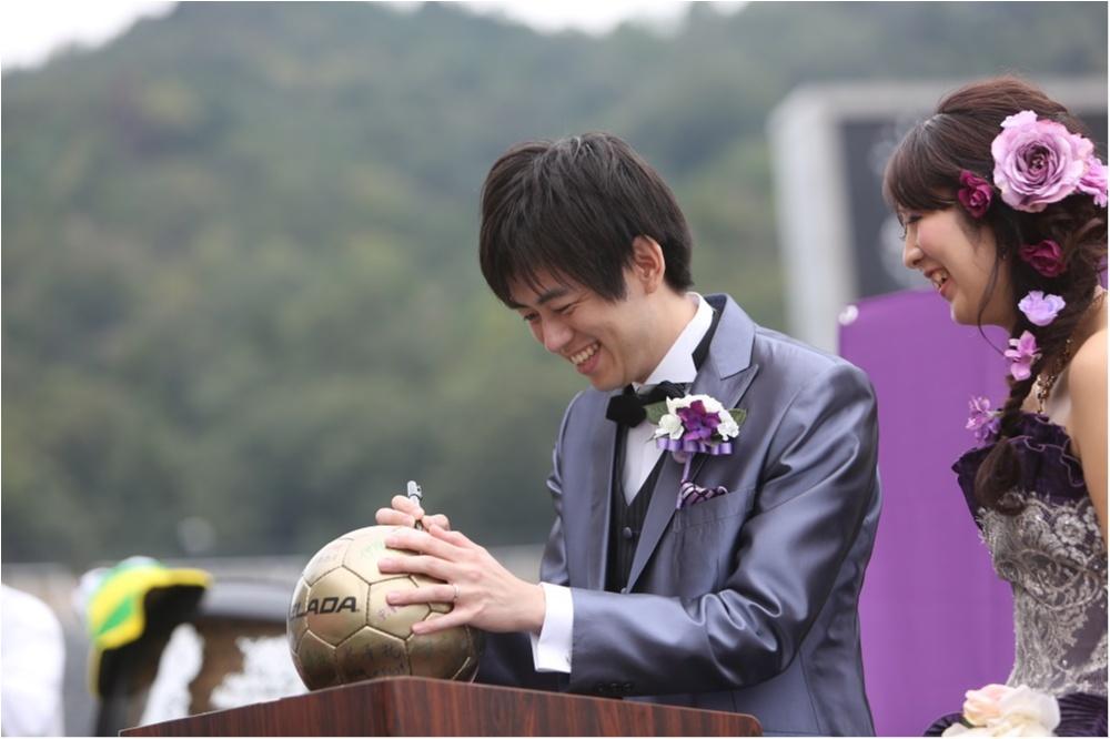 研究室にサッカー場!? 「世界にひとつだけ♡」のオリジナル結婚式が素敵すぎ!_4