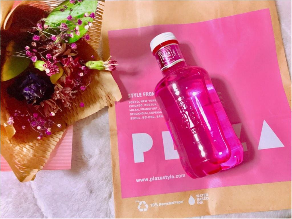 【PLAZA】ピンクのミネラルウォーター!?ピンクリボン運動支援限定《ピンクボトル》が美味しい&実用的★made in スペインの本格ウォーター♡♡_3
