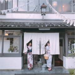 【京都女子旅】銭湯をリノベした素敵カフェ『嵯峨野湯』でランチ!