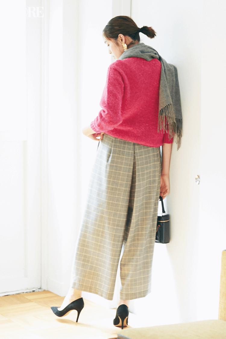 2018年秋のファッション ニット32
