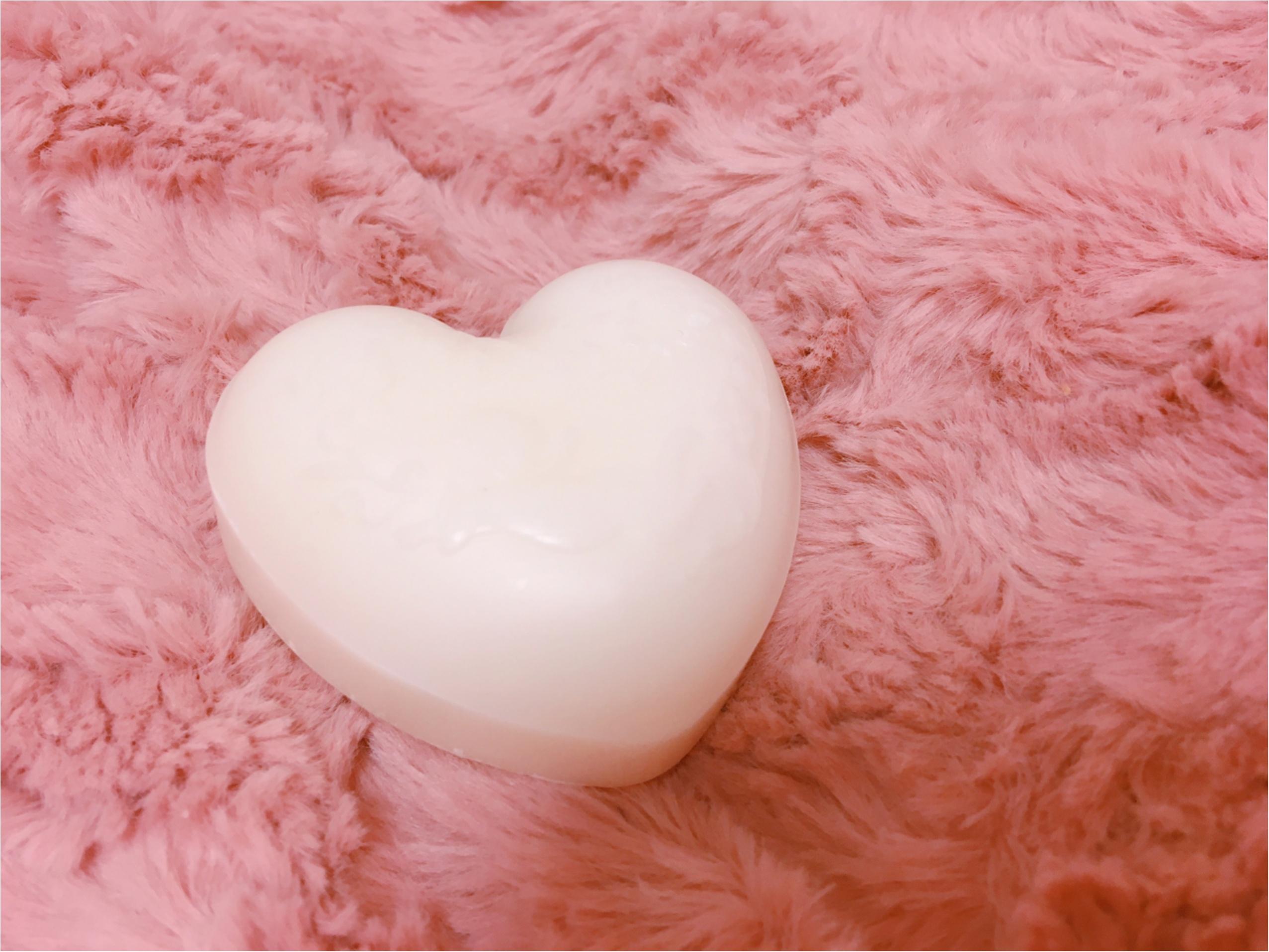 ハート型がかわいい『ボタニカル石鹸』はしっとりとした洗い上がり_3