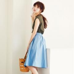 夏の好印象No.1カラー♪「ブルー」を使ったさわやかコーデまとめ♡