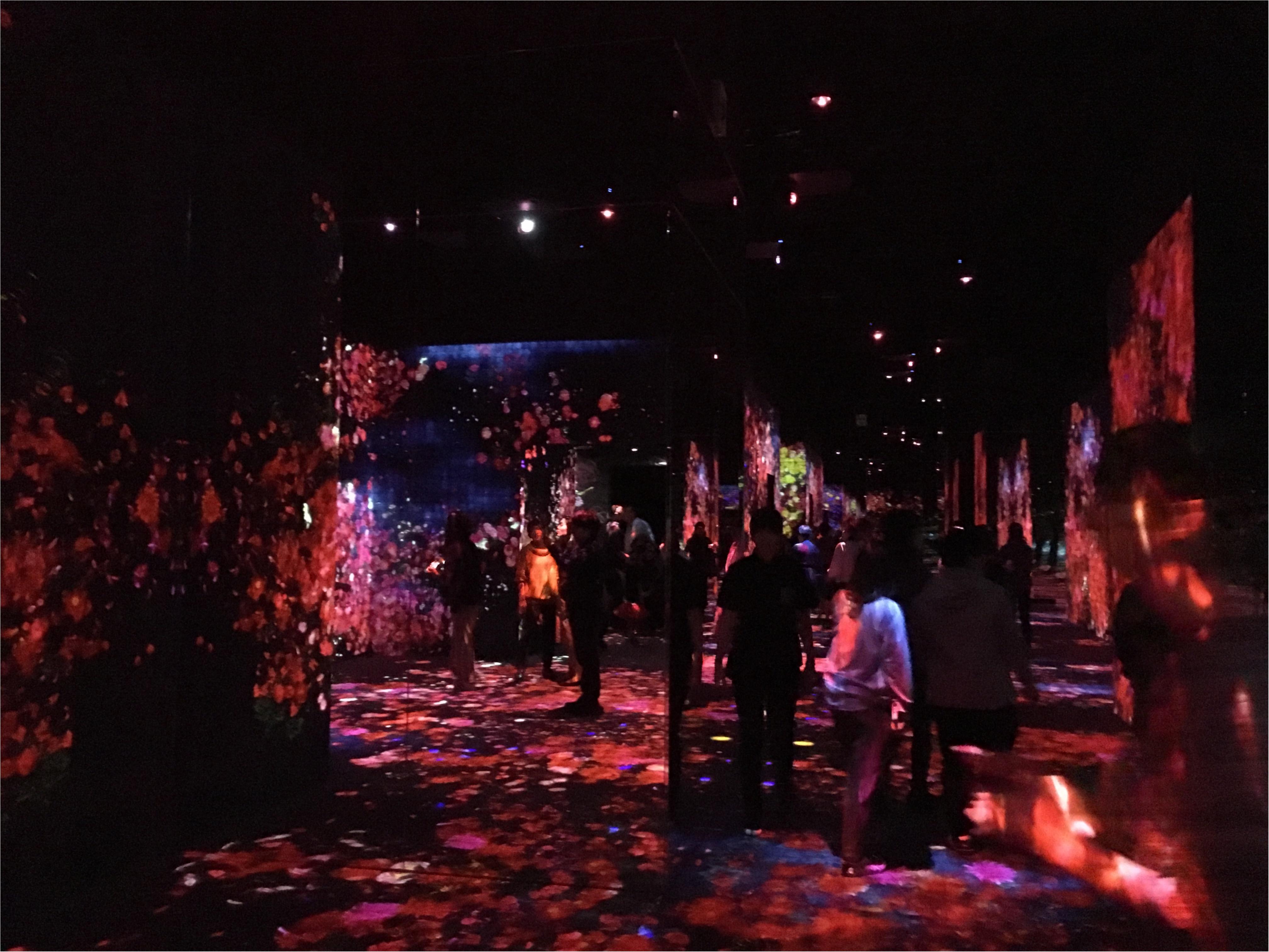 【チームラボ】お台場で開催中『ボーダレス』ランプの森が幻想的すぎる!_1