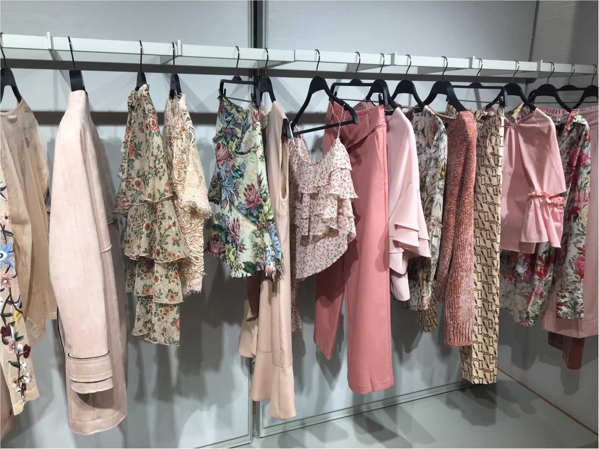 『ZARA』展示会に行ってきました! 春は【刺繍】がキーワード☆_4
