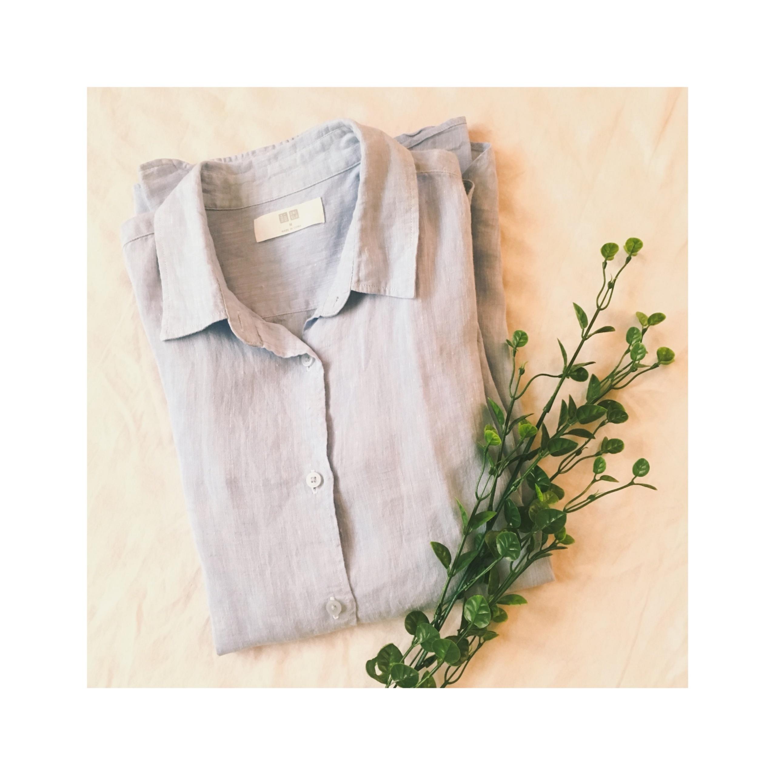 《やっぱり優秀!》今年はこう着回します✌︎★【UNIQLO】のプレミアムリネンシャツで着回し4コーデ❤️_1