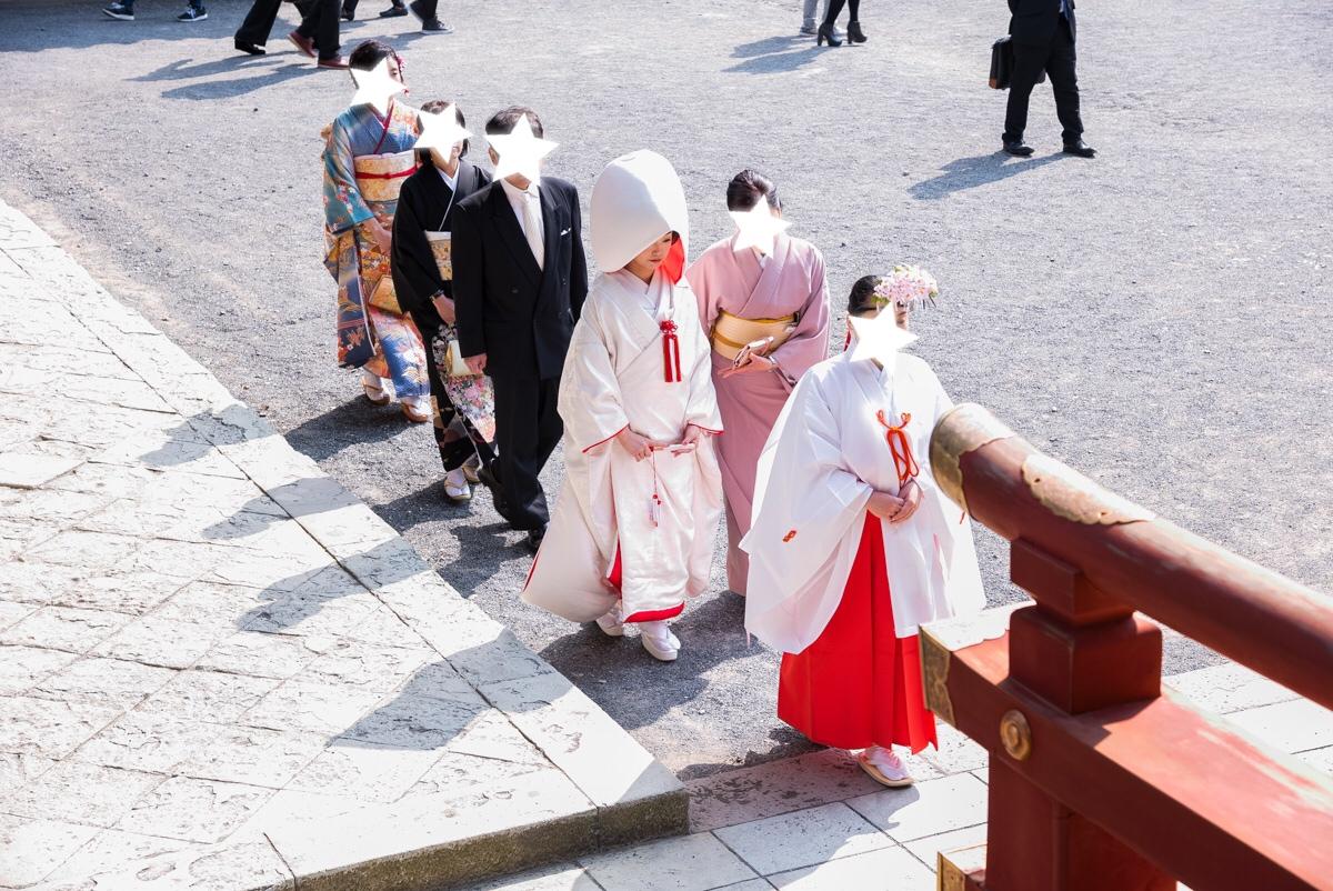 【本格和婚①】【神前式】徳川家ゆかりの神社で式を挙げました*。_4