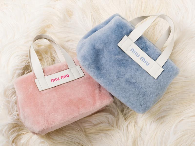 阪急うめだ本店にオープン!『ミュウミュウ』のファーバッグを揃えた期間限定ショップ☆_1_1