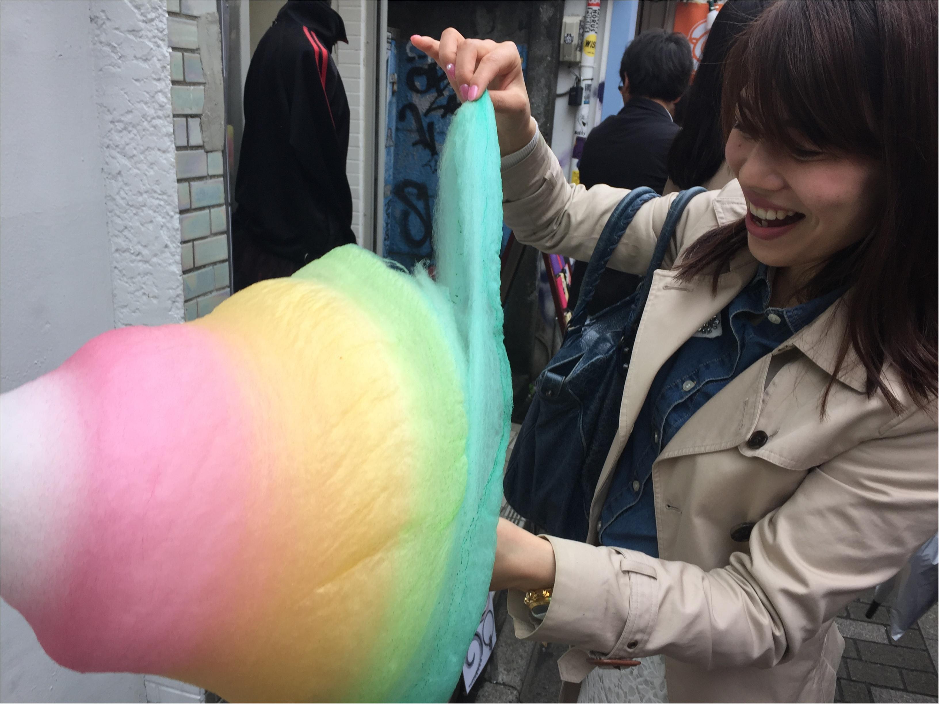 【FOOD】外国人にも大人気!「 sweet xo 」原宿竹下の巨大カラフルわたあめ♡_5