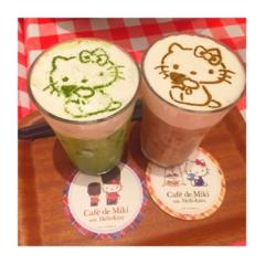 *Hello kitty cafe*お台場*