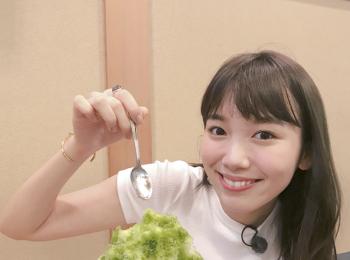 飯豊まりえは、かき氷が大好物♡ とくに抹茶味がお好み。【モデルのオフショット:最近のマイブーム編】