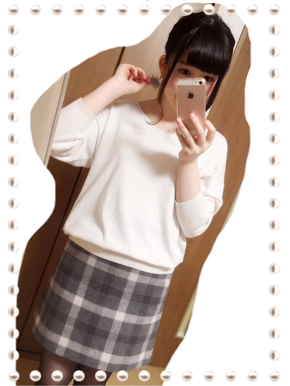 【新作・期間限定プライス1990円♡】UNIQLOのウールブレンドミニスカートでゆるカワコーデ(*´ ˘ `*)_3