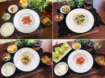 【今月のお家ごはん】アラサー女子の食卓!作り置きおかずでラク晩ご飯♡-Vol.10-