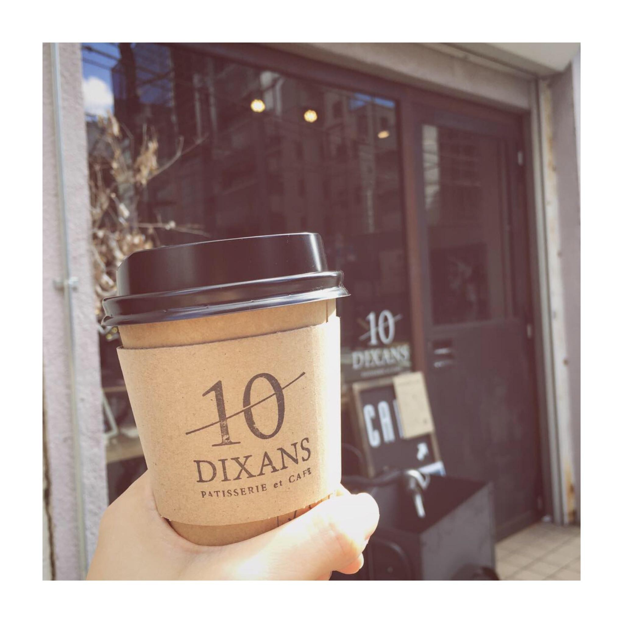 #12【#cafestagram】❤️:《東京•水道橋》ふわふわ絶品!厚切りトーストと可愛いラテアートが人気のカフェ「DIXANS」☻_1
