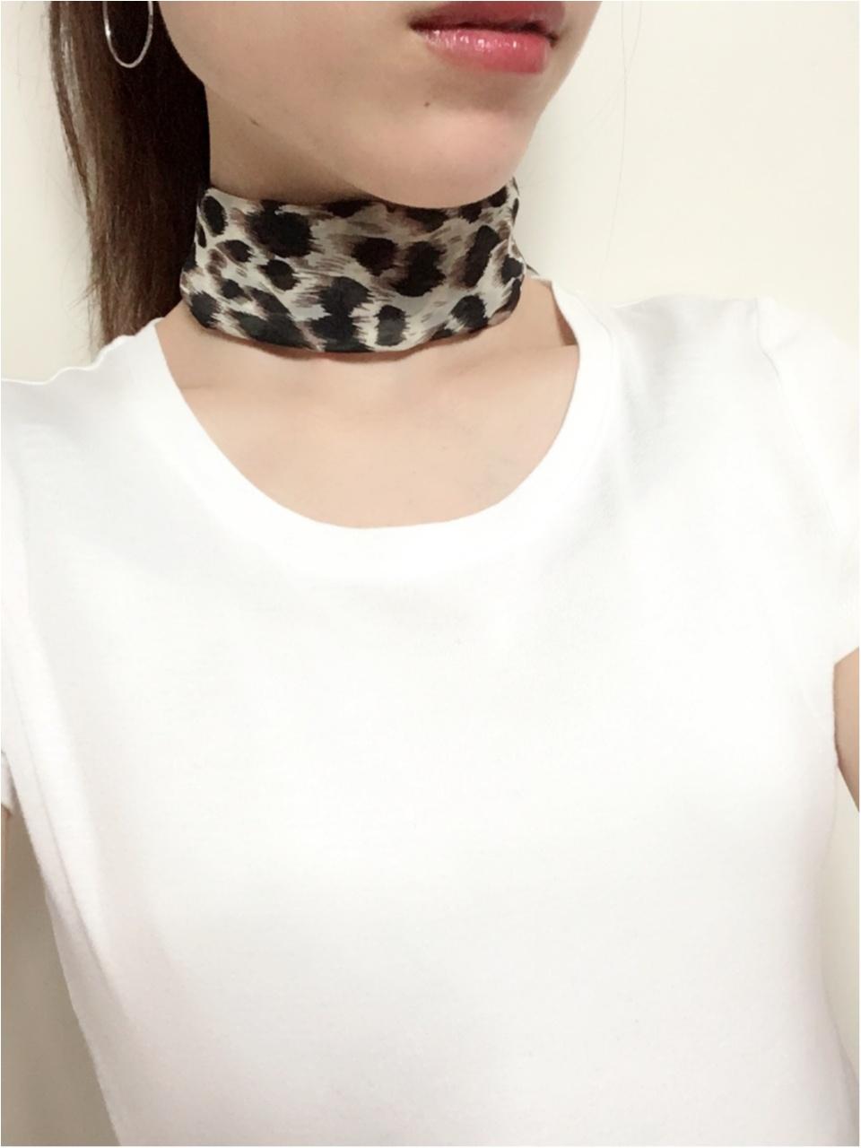 2018AWも取り入れたい【レオパード柄】小物アイテムとしてスカーフを♡_2