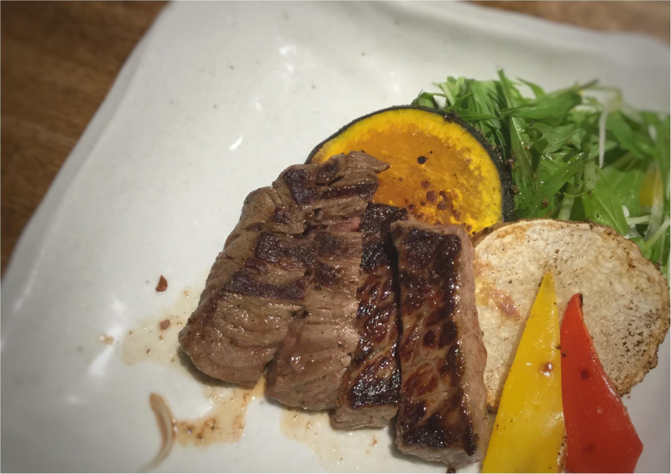 【デート&記念日にオススメ!】広島牛A5ステーキがリーズナブルな価格で食べれる隠れ家レストラン『暫(しばらく)』_5