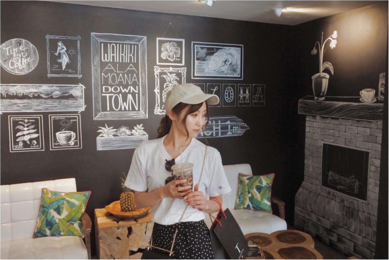 【Hawaii】おすすめ隠れ家カフェをご紹介します!!美味しいワッフルと内装が可愛いすぎる♡♡インスタ映えするフォトスペースも!?_4