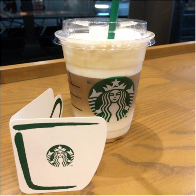 <3/15発売>#白いコーヒー体験!スタバの新作はフワフワもっちり+ホワイトな新食感コーヒー♡_4