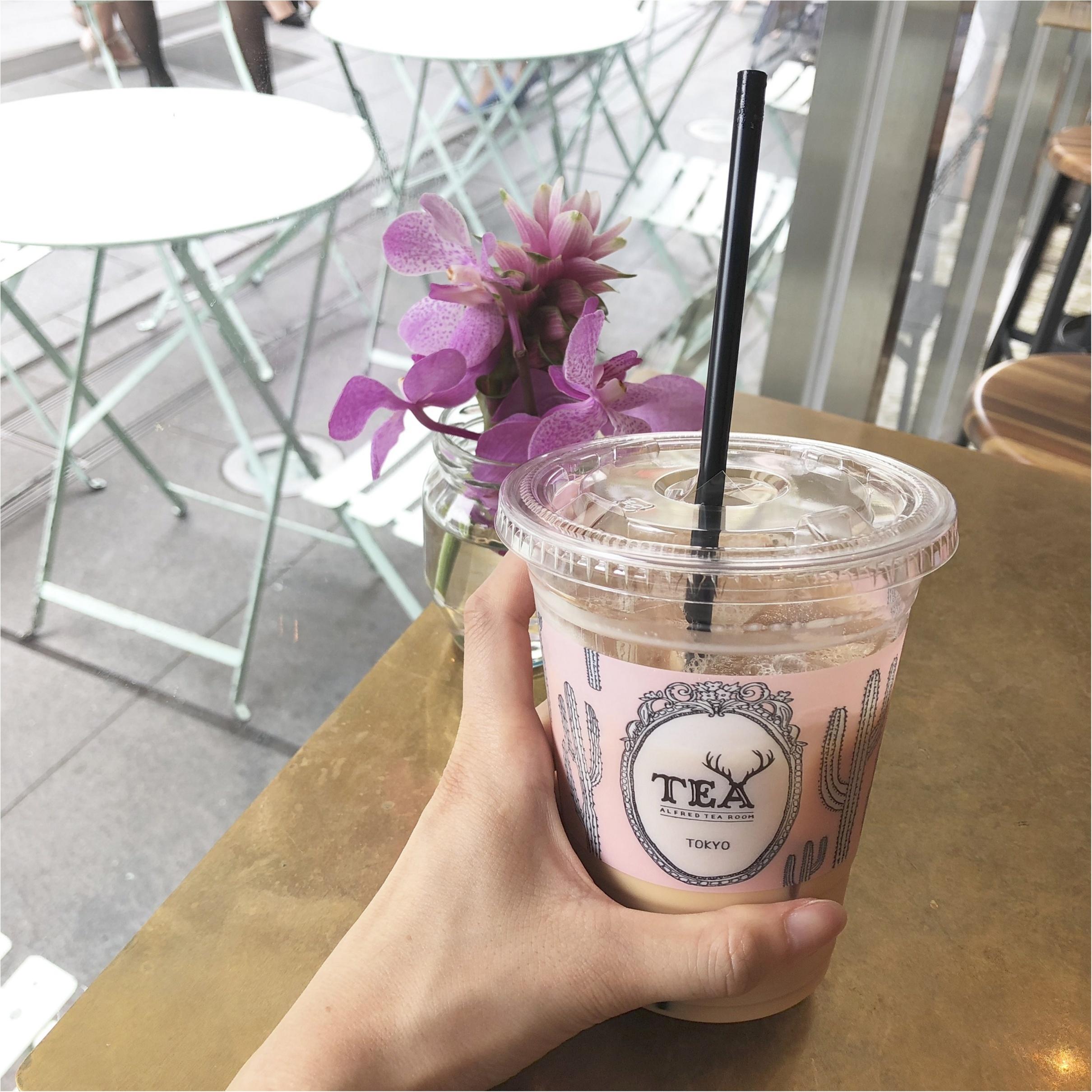 【青山】紅茶で一休み♩ALFRED TEA ROOMがBOBBI BROWNとコラボ中♡_4