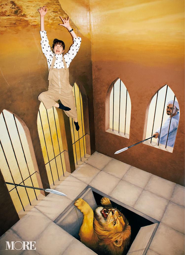隠れた芸術的才能!? 『高尾山トリックアート美術館』が楽しすぎた♡【佐藤栞里のちょっと行ってみ!?】_7