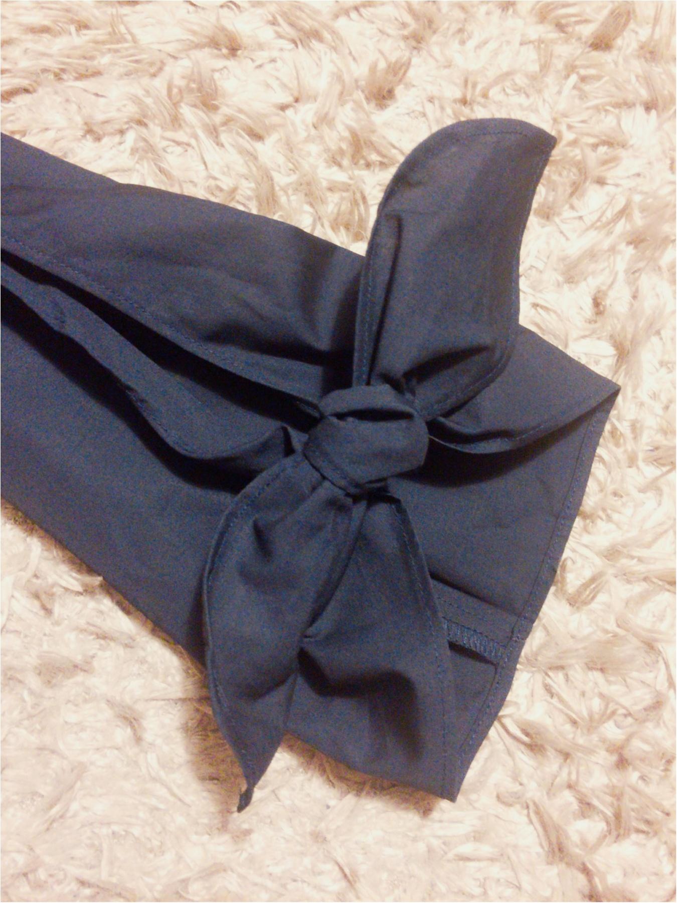 ♡イロチ買いしちゃいました!【GU】のリボン袖ブラウスが可愛すぎる♡_2