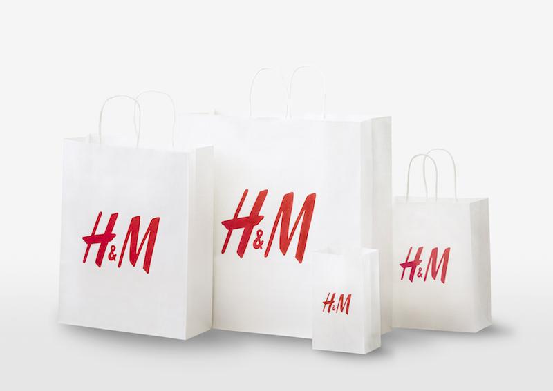 『H&M』がショッピングバッグを紙製化&有料化! エコバッグを持ってお買い物へ行こう☆_1