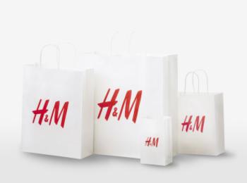 『H&M』がショッピングバッグを紙製化&有料化! エコバッグを持ってお買い物へ行こう☆