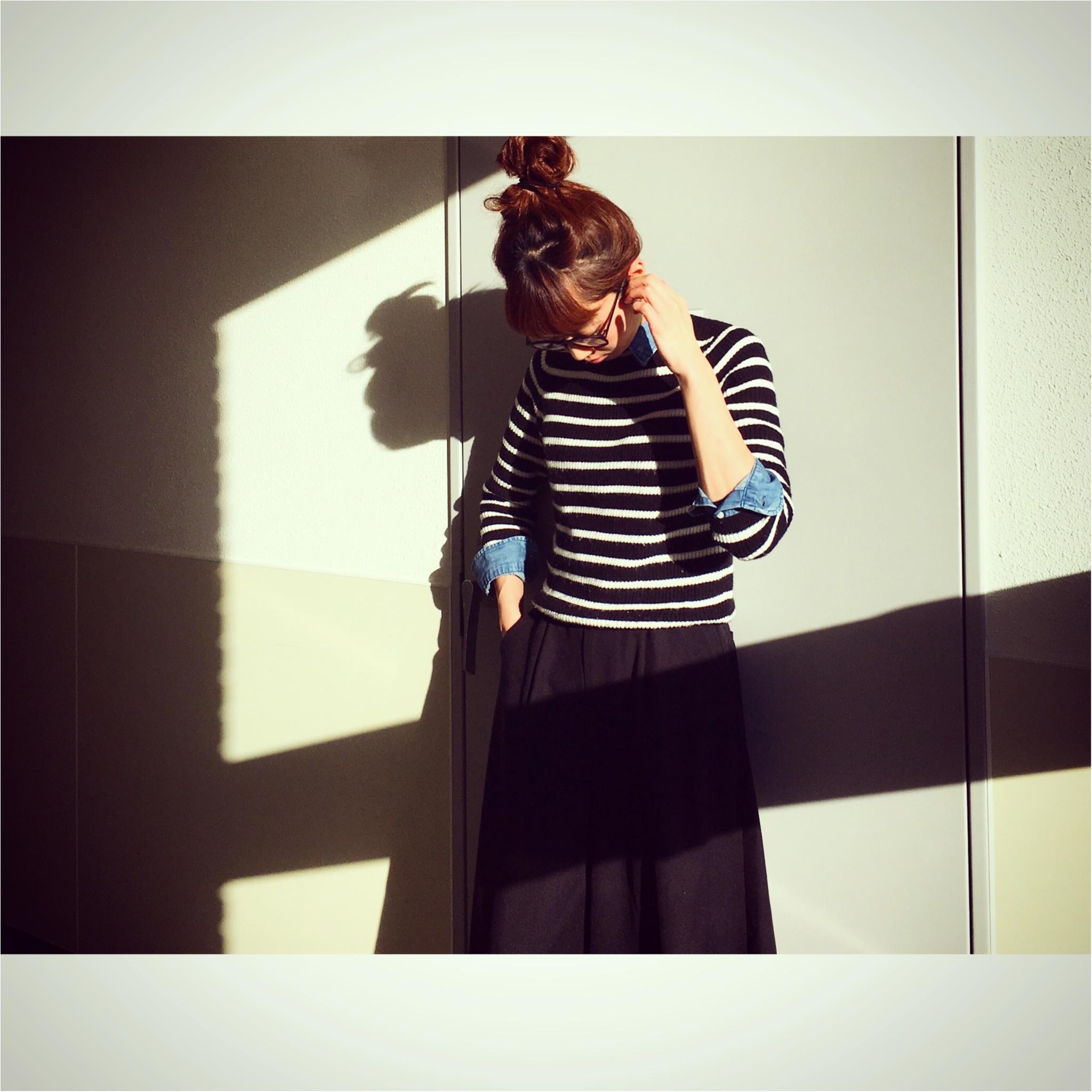 ユニクロのシャツは冬~春まで着れちゃう優れもの★真冬は+UNIQLOシャツでオシャレを楽しもう♪_4