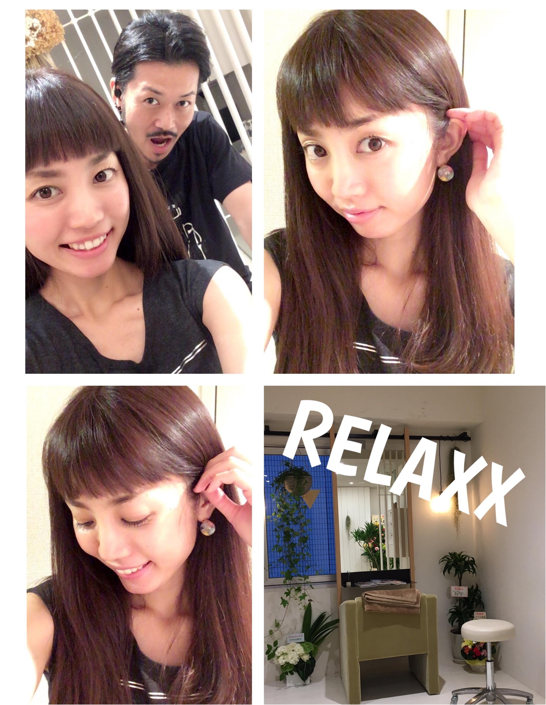 ▶︎▶︎髪も心も表参道で〈RELAXX〉〜夏に向けてのヘアケア〜【はるな】_7
