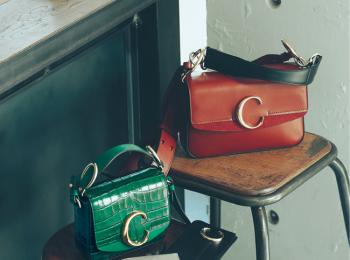 """『クロエ』の最新バッグ「Chloé C」を持てば、憧れの""""可愛いレディ""""に近づける♡"""