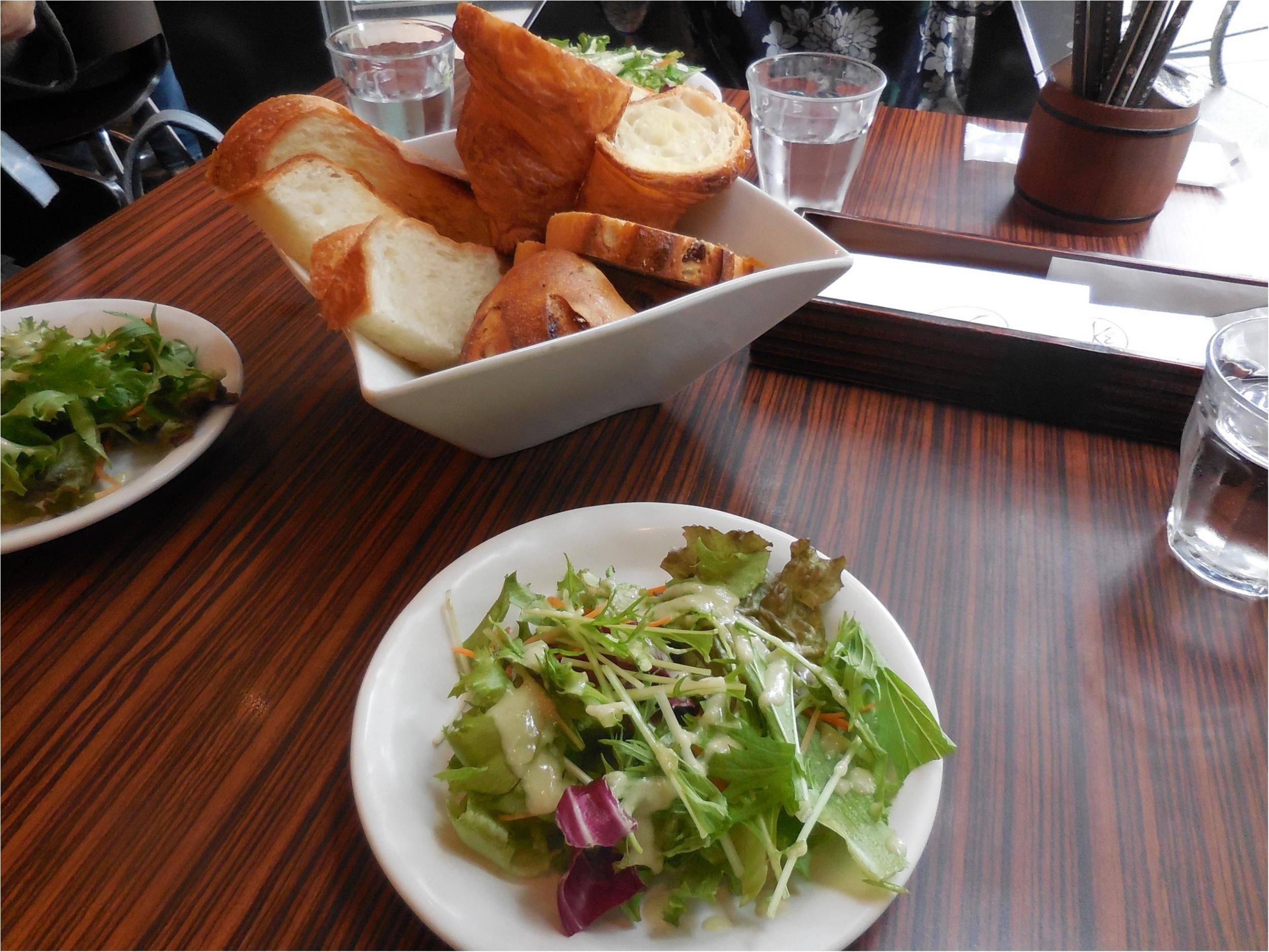【メゾンカイザーカフェ】メゾンカイザーのパンが食べ放題のランチ_2