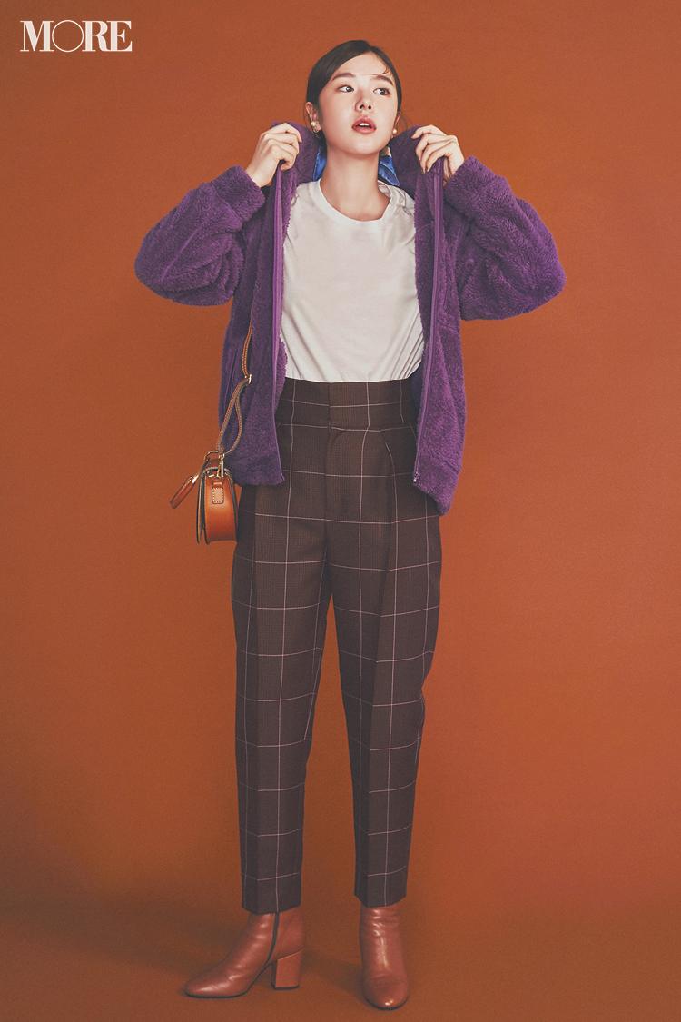 注目のきれい色【パープル】コーデ見本   ファッション(2018年秋冬編)_1_13