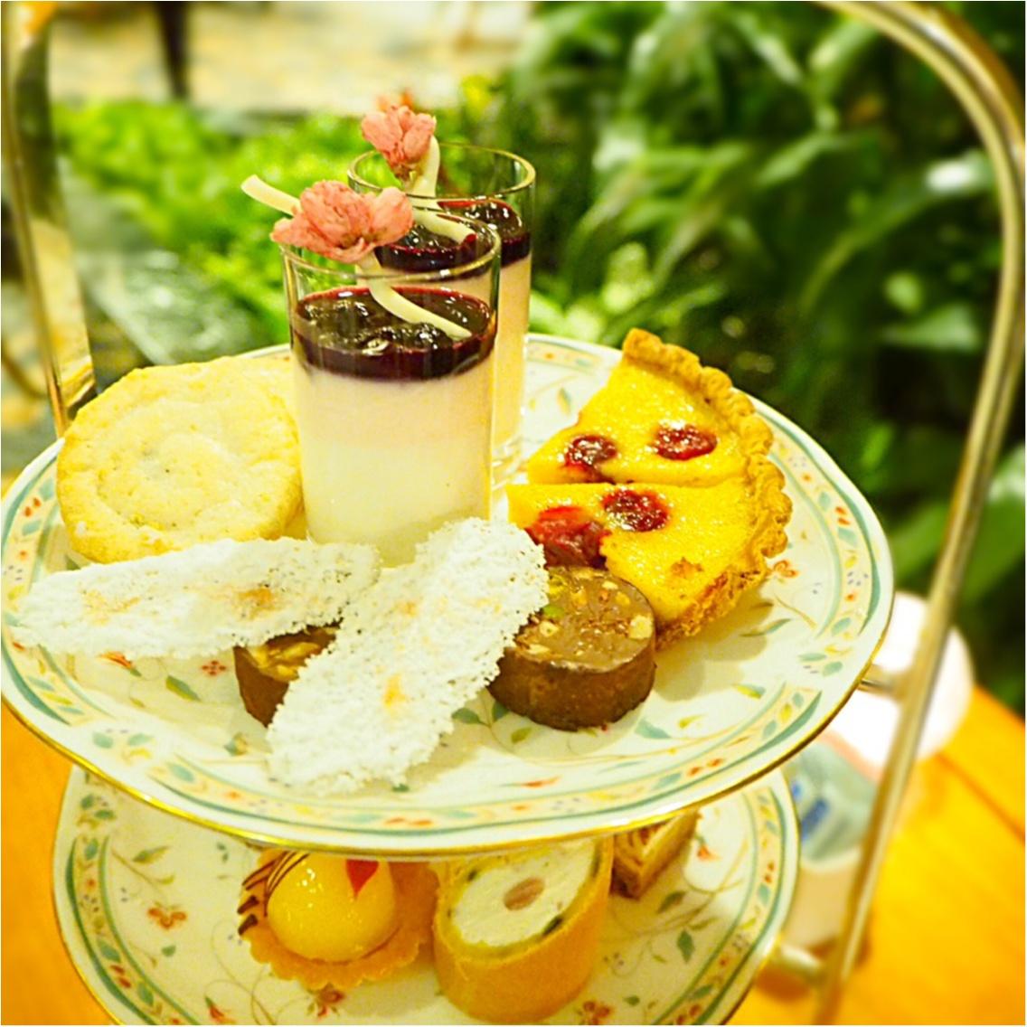 素敵な庭園がある【ホテル椿山荘東京】で美味しいイブニングティーを満喫♡_2