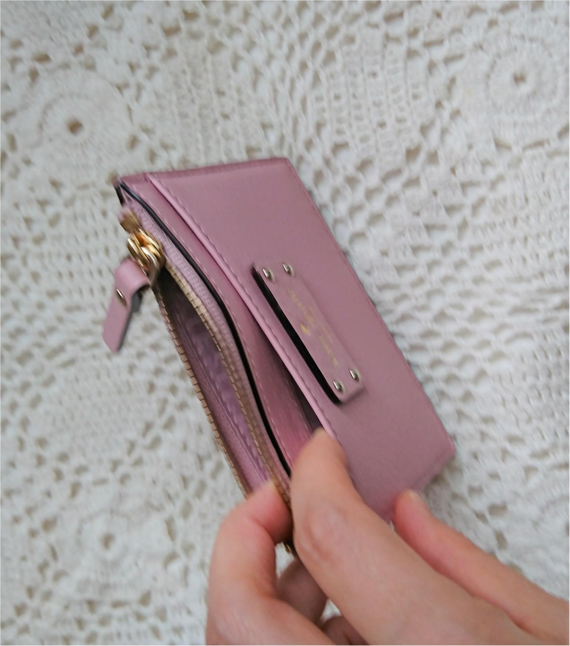 【kate spadeのスマート財布】小さいバッグの時の中身!_4